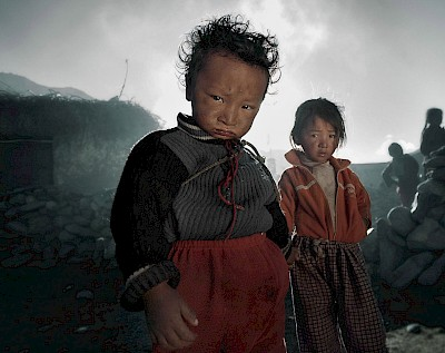 Brother and sister. Nominated for UNICEF Picture of the Year 2010